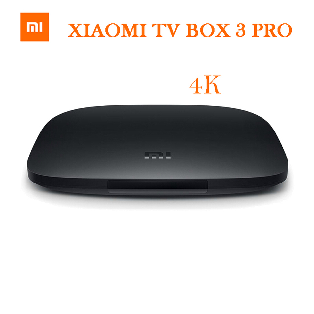 Оригинал XIAOMI BOX TV 3 PRO Amlogic S905 Cortex-A53 2.0 ГГц 1 ГБ DDR3 4 ГБ eMMC5.0 Android 5.0 4 К 3840 X 2160