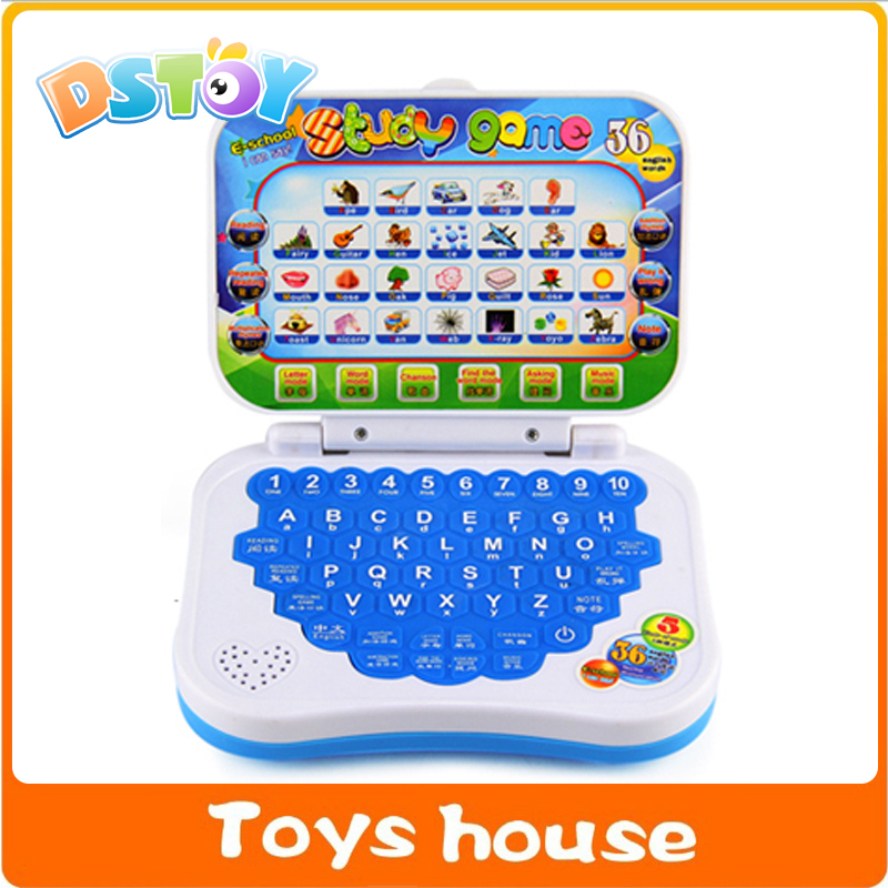 Educational laptop children computer kid laptop English Learning Machine Music Educational Toy Children Computer Laptop(China (Mainland))