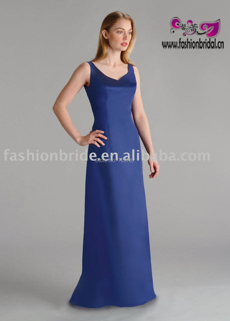 top quality best sale blue bridesmaid dresses
