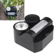 New Hot Humane Protective Ultrasonic Sonic Infrared Sound Flashlight Birds Repeller Driving Controller(China (Mainland))