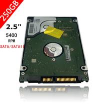 """A++++ 2.5"""" HDD HD Interno 2.5 """" HDD SATA 250gb 5400 Rpm Laptop Hard Drive Disk free Shipping(China (Mainland))"""