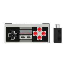 8 Edição Set Controlador Sem Fio com Bluetooth 8bitdo NES30 Clássico Retro Mini Receptor Apoio Interruptor Alegria-Contras(China (Mainland))