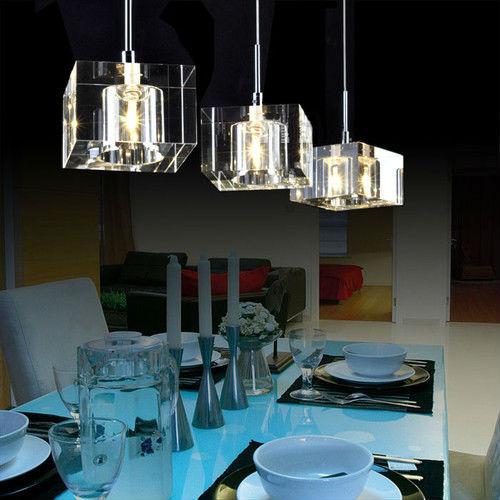 Achetez en gros luminaire suspendu cube en ligne des for Gros luminaire suspendu