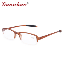 Fashion Retro TR656 Reading Glasses Men And Women Front Frame easy to carry lazy glasses with Acetate Temples 1.0 1.5 2.0 2.5(China (Mainland))
