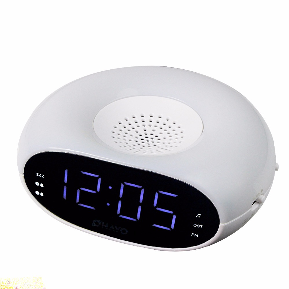 Digital Home FM Radio with Table Dual Alarm Clock with Flashlight & Sleep Timer Snooze Radio FM Y4193B(China (Mainland))