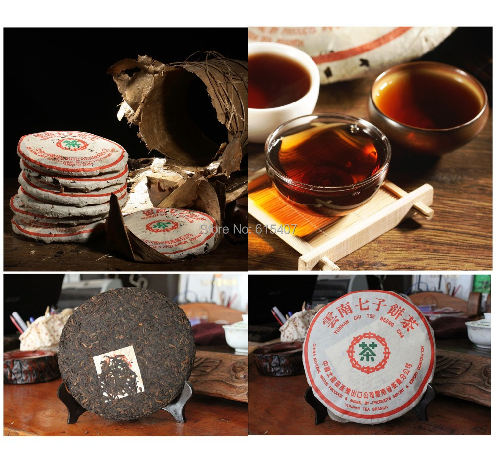 Recommended wholesale Made in1970 ripe pu er tea 357g oldest puer tea ansestor antique t ancient