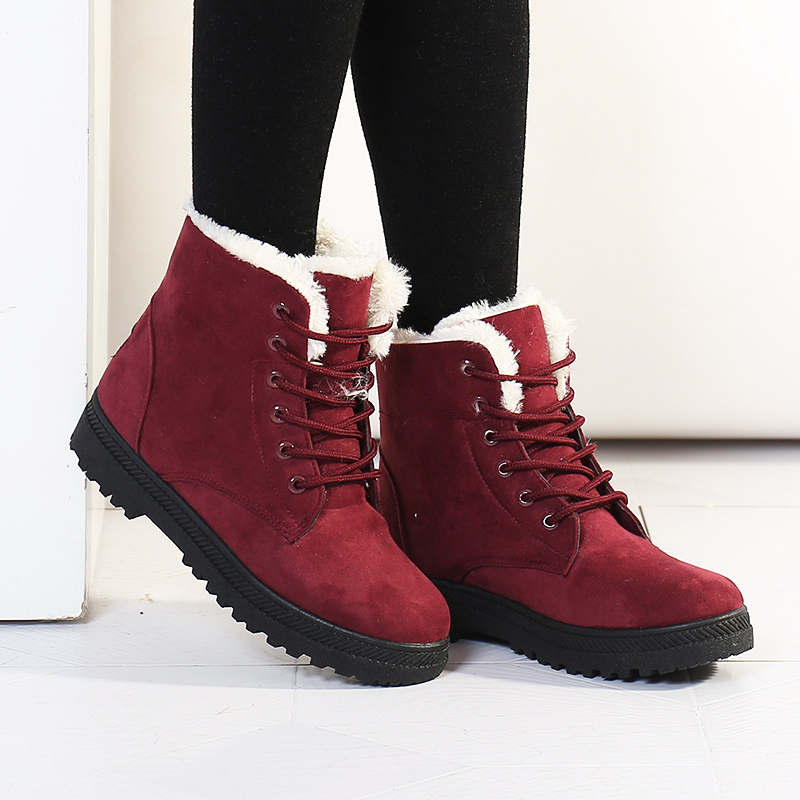 Women boots Botas femininas 2015 new arrival women winter boots warm snow boots fashion platform ankle