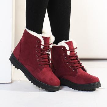 Women boots Botas femininas 2015 new arrival women winter boots warm snow boots fashion platform ankle boots for women shoes
