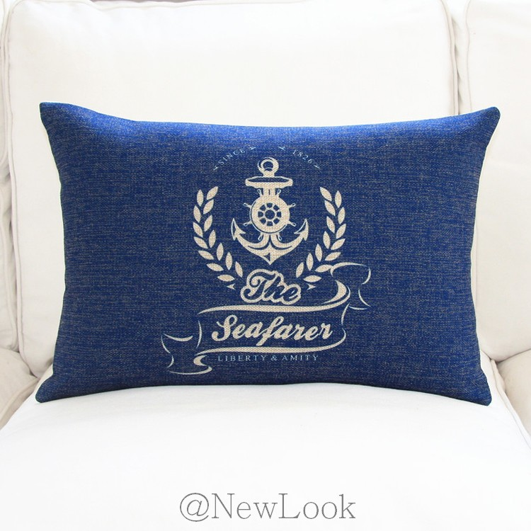 Anchor Marine Decorative Throw Pillows Decorate for a Sofa