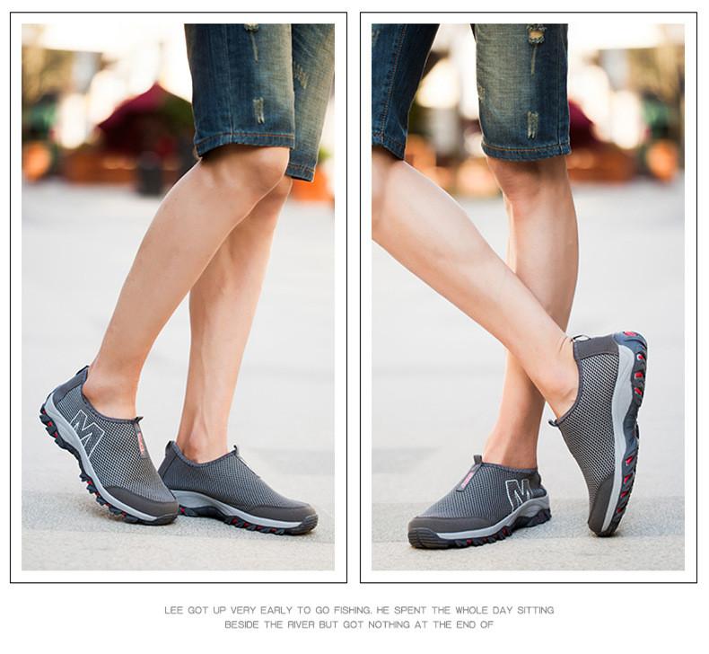 Новые Мужчины Обувь Новый Бренд Дизайнер Дышащие Мокасины Мужская Обувь 2016 Скольжения На Ари Сетки Удобные мужские Квартиры Zapatillas Hombre