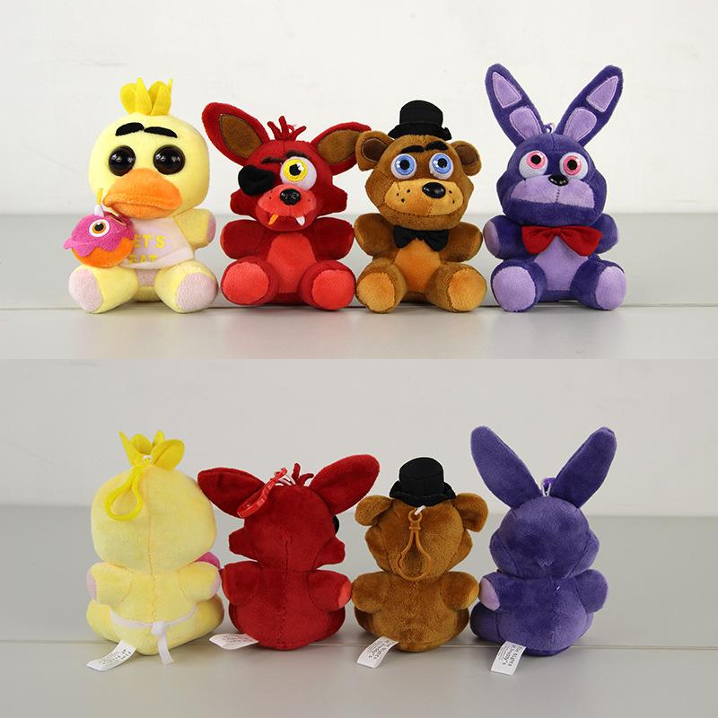Five Nights At Freddys 4 FNAF Freddy Fazbear Peluche Freddy Bear Bonnie Chica Foxy Kawaii Plush Toys Doll Brinquedos for Gifts<br><br>Aliexpress