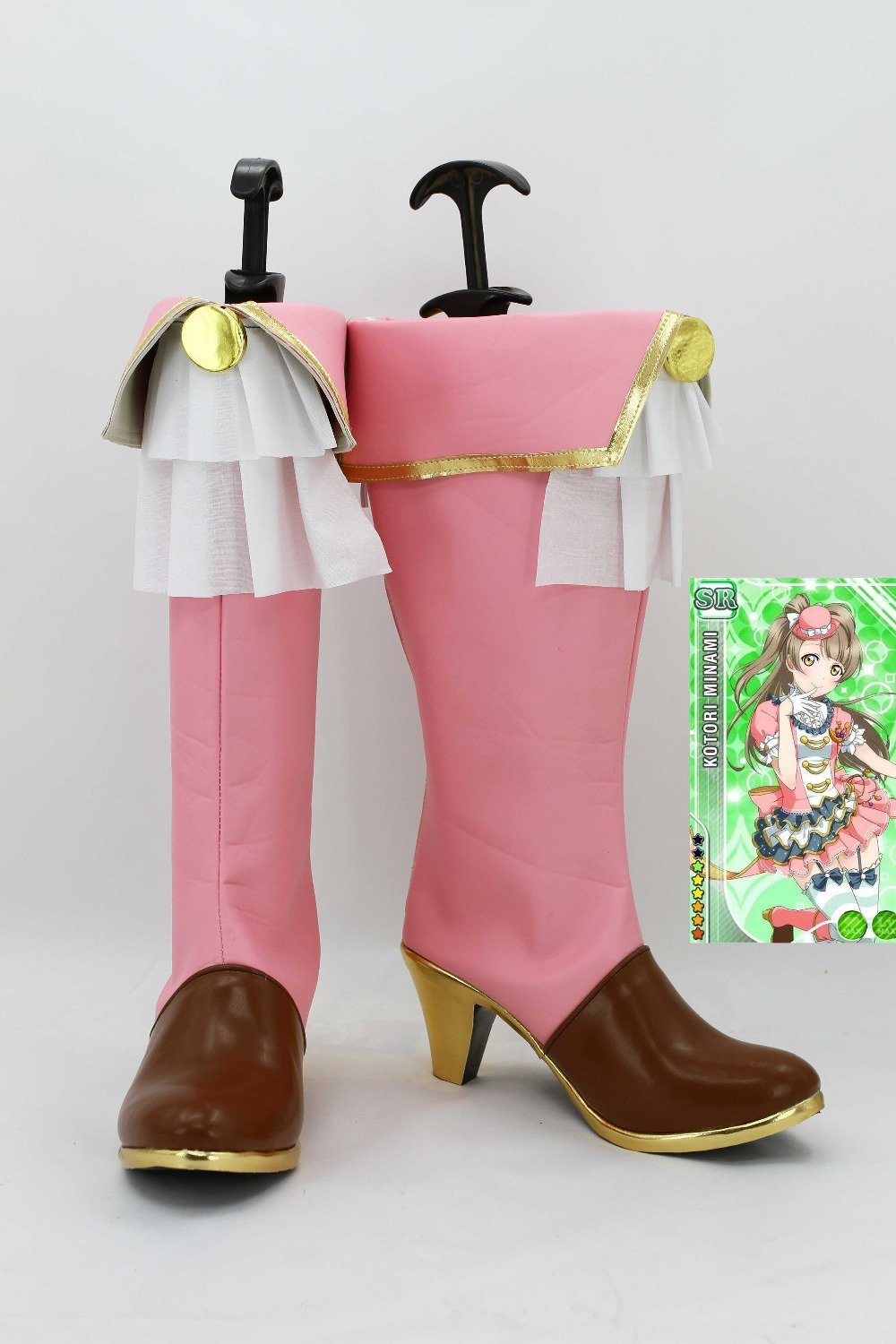 Фотография New male female costumes customized LoveLive! Kotori Minami COSPLAY customized shoes boots costumes