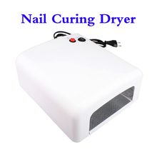 Professional 36W EU 220-240V UV Nail Dryer Art Gel Best Curing Polish Light Dryer Nail Art Lamp Care Machine UV Light Nail Dryer
