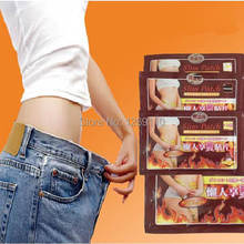 5Bags/50PCS Navel Stick Slim patch for slimming, during sleeping, free shipping Weight loss,new 2014 fat burning products Jh05