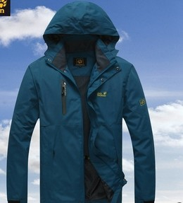 2014 new winter warm windproof waterproof outdoor men climbing male tri-color jacket sportswear - Lemon summer store