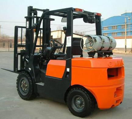 CPQYD35FR Famous brand LPG & Gasoline Powered Forklift Truck from Shengyuan group(China (Mainland))
