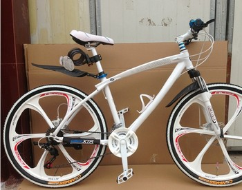 "26"" inch aluminium BMX  MTB mountain bike bicycle,21 speed, one-piece wheel,disc brakes bicycle bike"