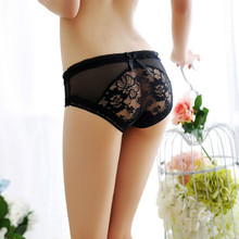 Sexy Women's Lace Ultra-thin Seamless Red Panties Transparent Briefs Underwear 6202 Ropa Interior Mujer Culotte Femme