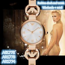 Pulsera de moda relojes AR1772 AR1773 AR1774 + la caja Original + venta al por mayor y al por menor + envío gratuito