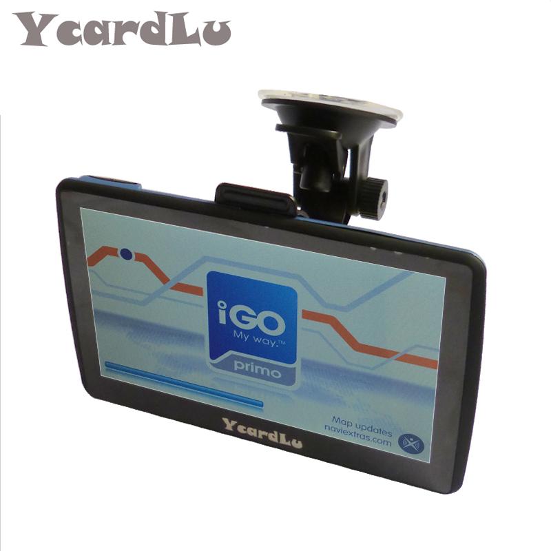 YcardLu 7inch HD Android Car navigator GPS FM 8GB FLASH/128M DDR/800MHZ Map Free Upgrade Russia/Spain/Europe/USA+Canada(China (Mainland))