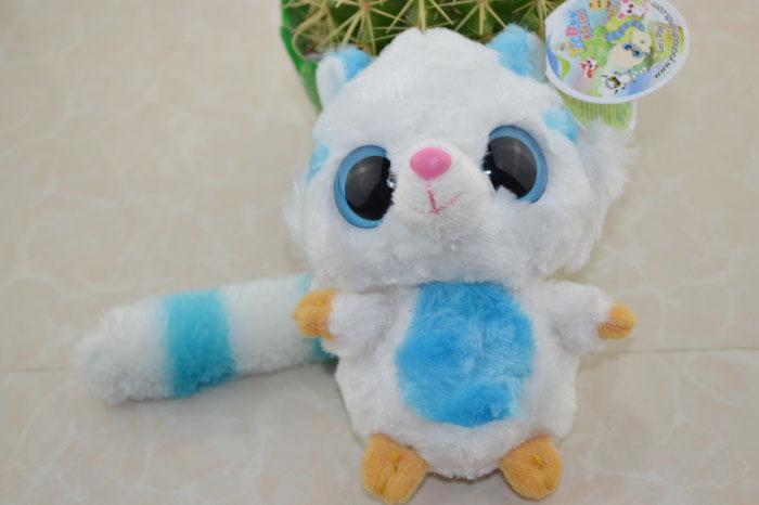 "Yoohoo&Friends Rare Animal Big Eye Cute Fabric Plush Toy Muhon-8"",Plush doll Classic Baby Toy,learning & education(China (Mainland))"