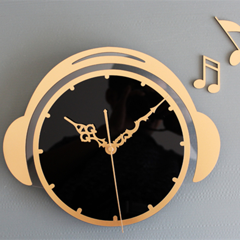 Achetez en gros musical horloge murale en ligne des for Decoration murale note de musique