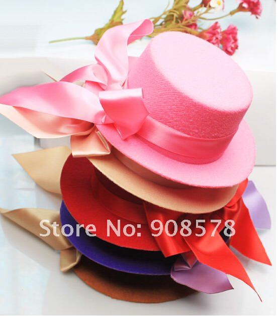 Free shipping Mini/Small Hat Feather Hair Clip Fascinator Fancy Dress 12PCS Reliable wholesale dropship suppliers(China (Mainland))