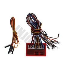 Buy Smart 12 LED Flashing Lights Control System Group RC Model Car Tamiya HSP Kyosho HPI Support PPM/FM/FS 2.4G System for $11.99 in AliExpress store