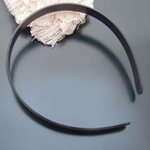 15mm plastic narrow width headband black hair accessory cheap 10pcs per pack wholesale free shipping