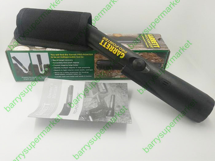 FREE SHIPPING Metal Detector Garrett Pro Pointer 1166000 Pin Pointer Hand Held Metal Detector Water-resistant Design