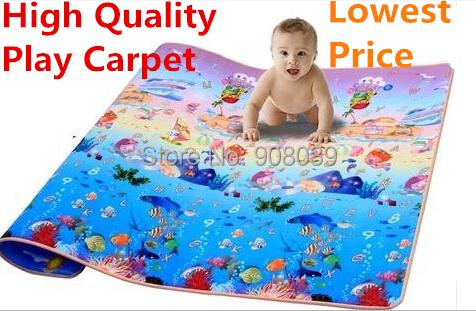 Single-Side Baby Play Mat Kids Mats 2*1.8m*5mm Ocean Beach Picnic Carpet Child Outdoor Game Blanket Crawling EVA - XDREAM ONLINE MALL store