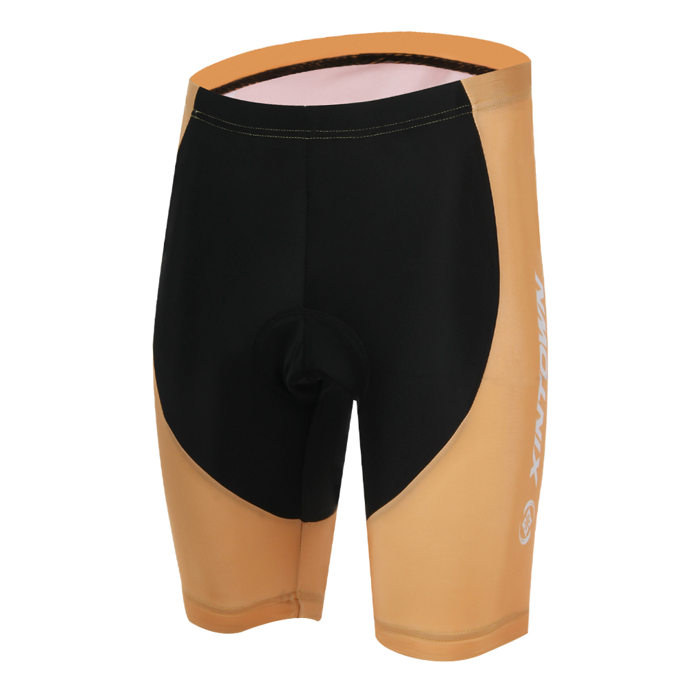 Yellow Men`s Cycling Shorts Riding Bicycle Ciclismo Bike 3D Padded Coolmax Gel Shorts Outdoor Short Trousers Sportshorts Fitness(China (Mainland))