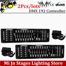 Buy 2Pcs/lots 192 DMX controller stage lighting DJ equipment dmx console led par moving head spotlights dj controller for $90.00 in AliExpress store