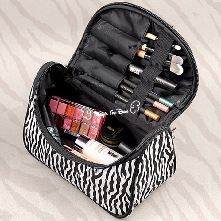 FreeShipping professional Cosmetic Case bag large capacity portable Women Makeup cosmetic bags storage travel bags SV005497:SB(China (Mainland))