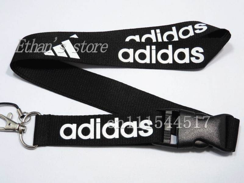 FREE SHIPPING Men Key Lanyard Brand LOGO Sport ID badge Holders Sport neck strap keychains(China (Mainland))