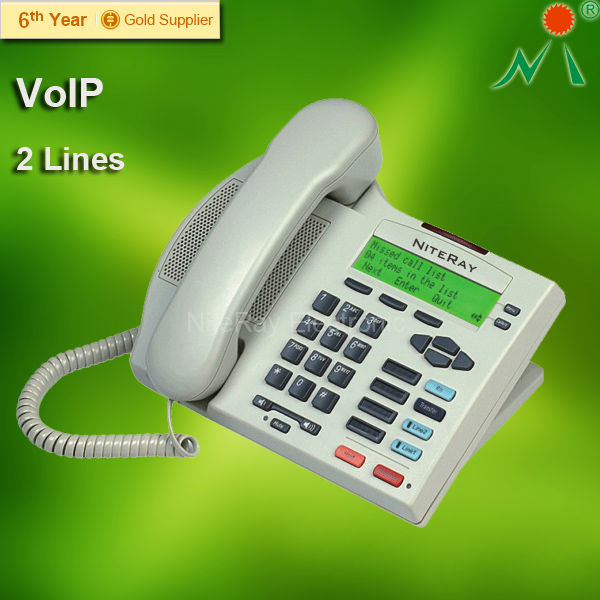Corded Office VoIP SIP Telephone Almond color PoE IP phone(China (Mainland))