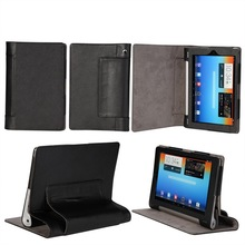 Luxury Stand Case for Lenovo yoga tablet 2 Case 8.0 inch,Flip PU Leather Smart Cover for Lenovo yoga tab 2 830F 830L+Stylus/Pen