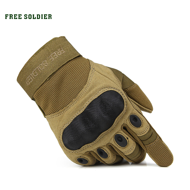 Outdoor Riding Hiking Climbing Training Tactical Gloves Men's Gloves Armor Protection Shell Cycling Gloves