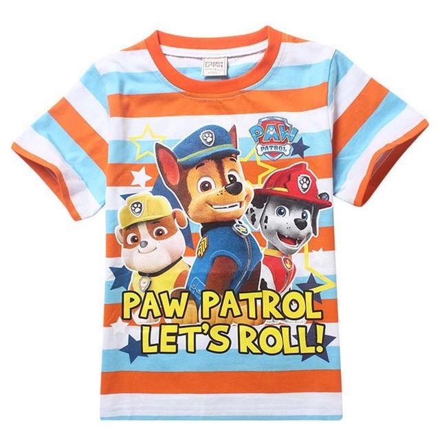 Дети собака патруль дети футболки бобо миньоны выбирает в потомки для мальчиков девочек tshirt мальчик майка девочка топы