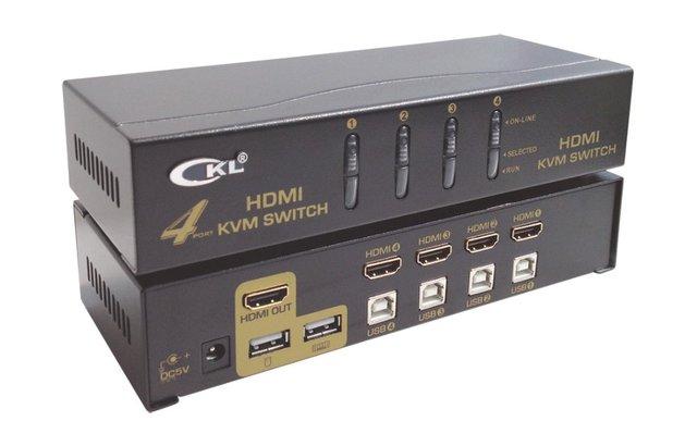 4Port USB HDMI KVM Switch CKL-94H