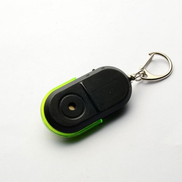 Etmakit со Звуком Свистка светодиодный свет Анти потери устройство для поиска ключа