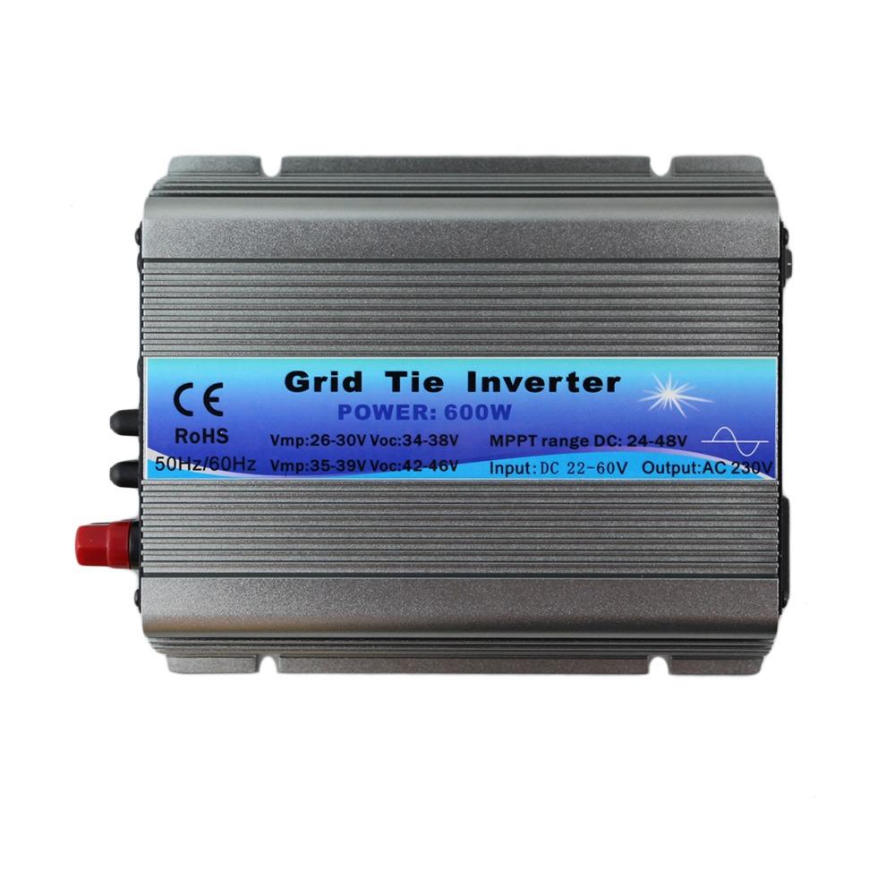 600W on Grid Tie Inverter MPPT 30V 36V Panel 60 72 Cells MPPT pure sine wave inverter 220V Output(China (Mainland))