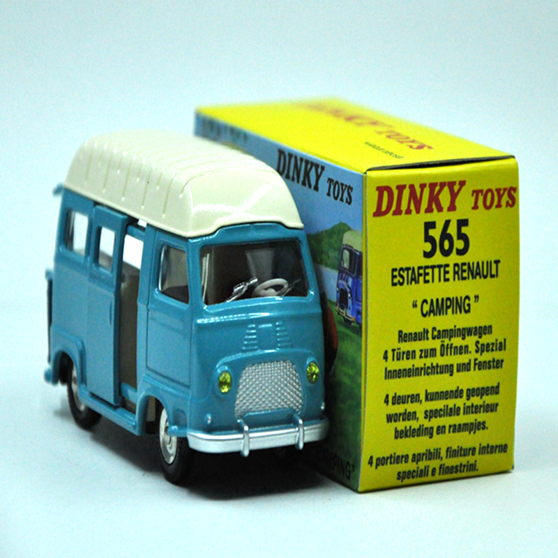 Antique car model DINKY TOYS Renault Estafette Camping - Atlas - Ref. 565 the Car model Alloy Diecast Antique model car(China (Mainland))