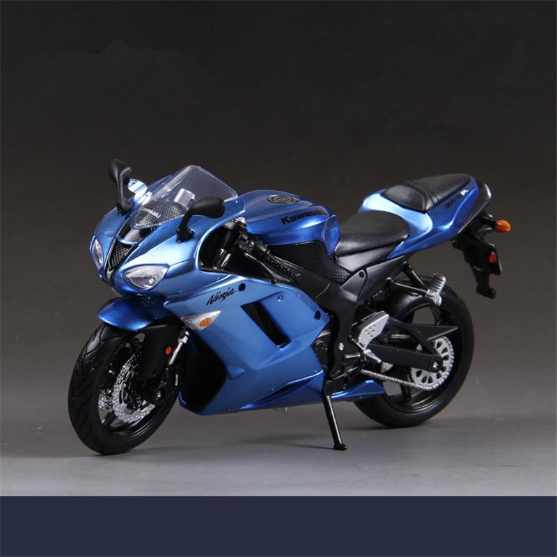 Maisto Simulation 1:12 Motorcycle Toys, Kawasaki ZX-6R Motorcycles Models, Gift Toys,Vehicle Motor Kids Toys / Brinquedos(China (Mainland))