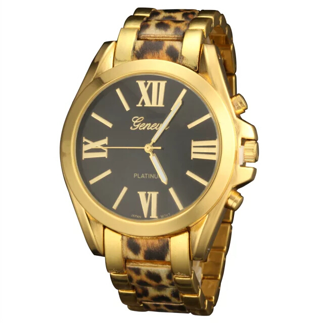 new fashion kors gold color mens watches top brand