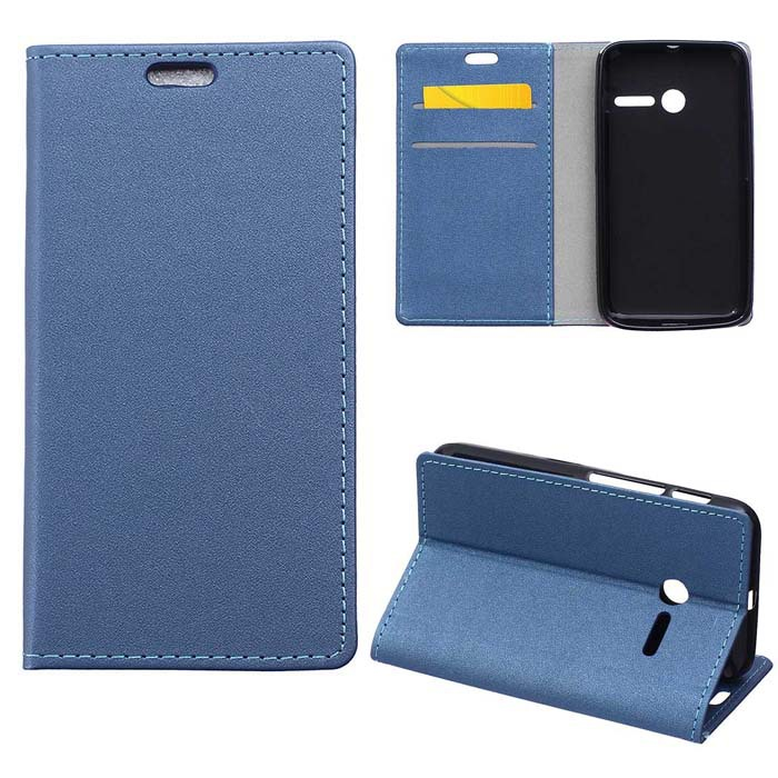 Fashion Sands grain Leather Wallet Flip With Stand Cover Case For Vodafone Smart first 6 Cell phone Cases Free Shipping(China (Mainland))