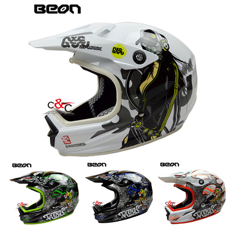 free shipping 2016 new ATV dirt bike downhill beon casco capacetes motorcycle helmet off road moto cross ECE motocross helmets(China (Mainland))