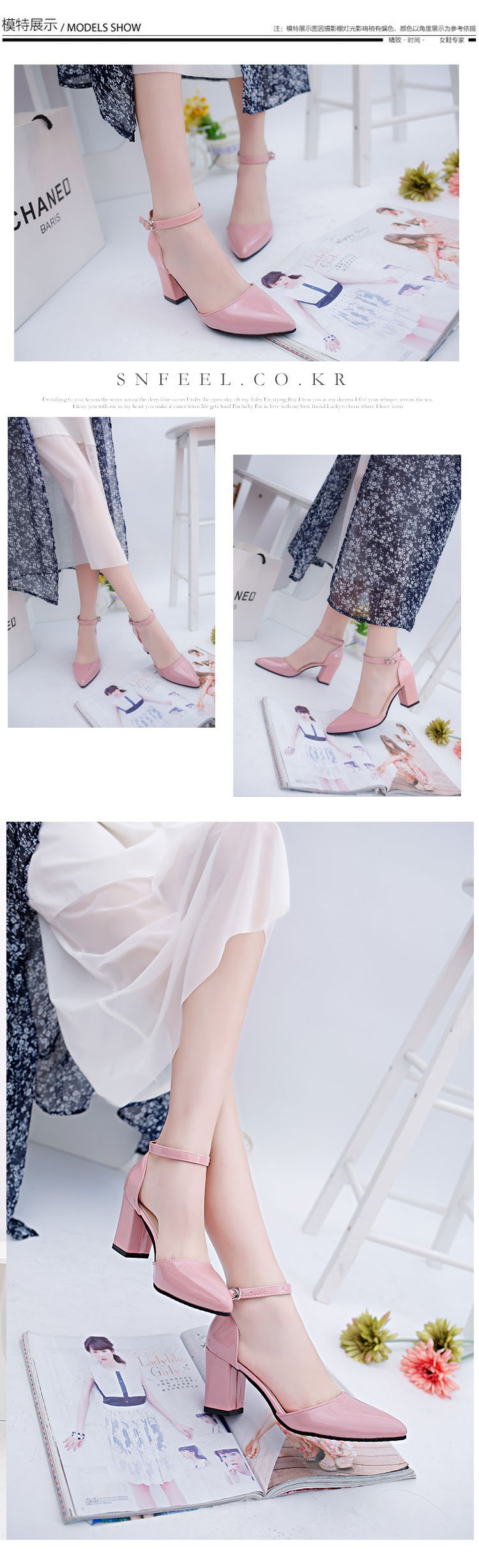 2016 Summer High Heels Shoes Women Sexy Pointed Toe Pumps Office Ladies Fashion Wedges Platform Shoes SS1605054