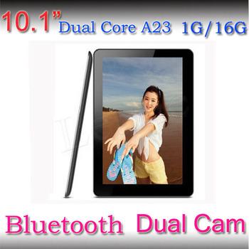 Bluetooth! 1.5 ГГц HD планшет 1024 * 600 андроид 4.4 1 ГБ / 16 ГБ двухъядерный Allwinner A23 двойная камера 10 '' планшет pc + смарт браслеты