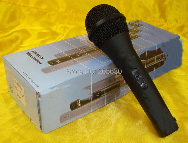 New boxed D660s wired professional microphone good sound D660 Free airmail shipping(China (Mainland))